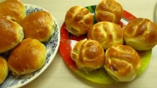 булочки в хлебопечке