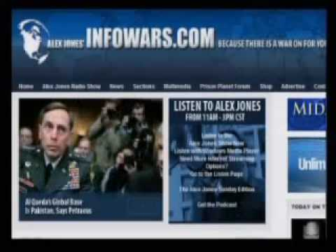 The Alex Jones Show Full 12th may 09 part 1