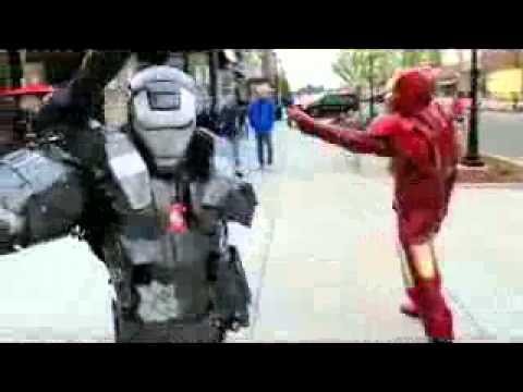 Костюм Железного человека из пластика на заказ. - YouTube