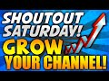 "NEW ""SHOUTOUT SATURDAY"" SERIES! (w/ForThePacks) 