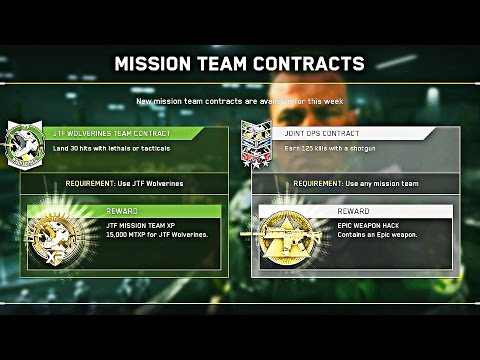 EPIC WEAPON HACK! Earn FREE GUN by Completing Contracts..