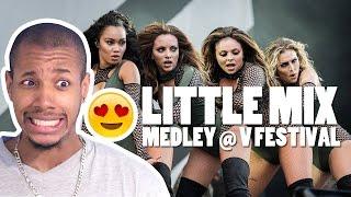LITTLE MIX - MEDLEY @ V FESTIVAL REACTION