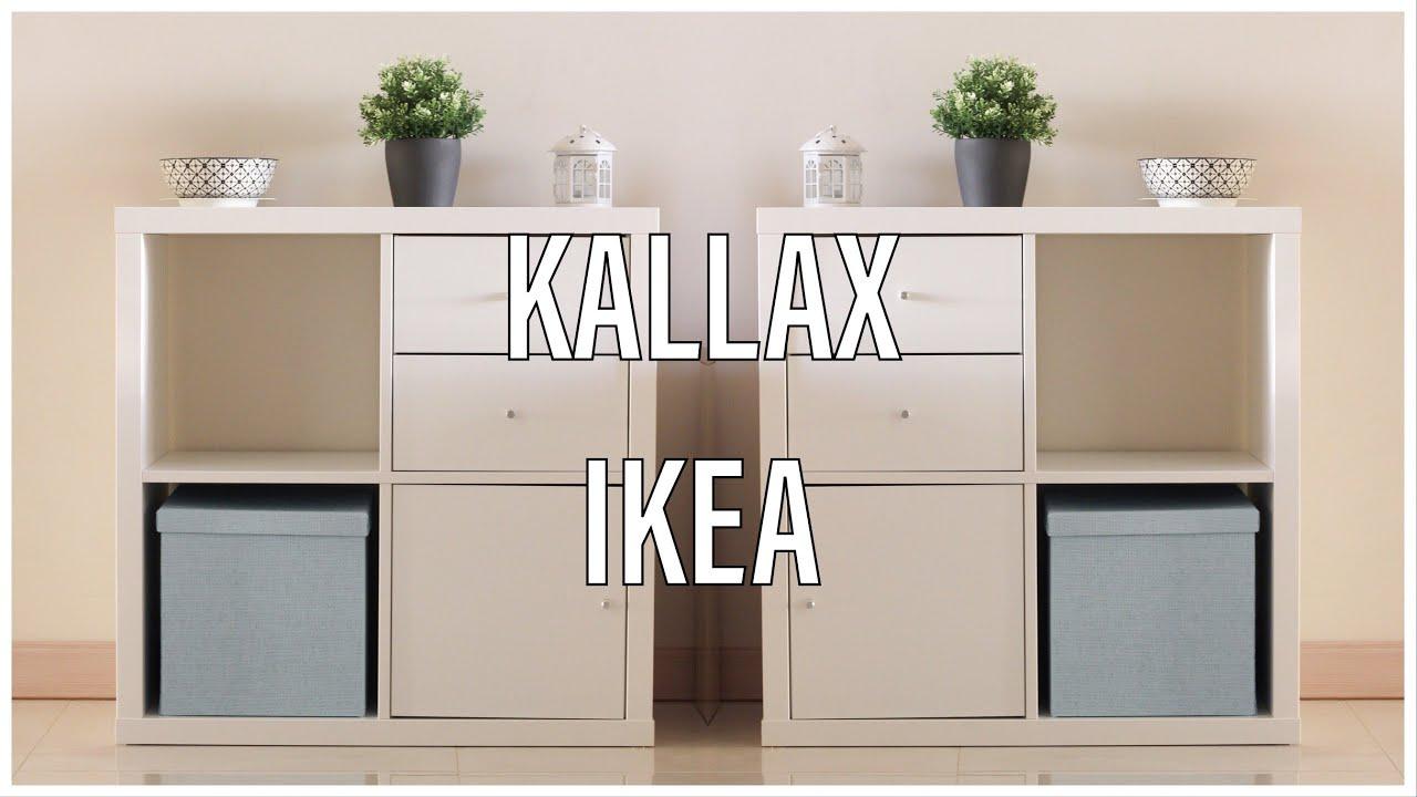 Novità in soggiorno    KALLAX IKEA - YouTube