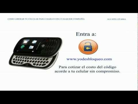 Como desbloquear Alcatel OT-606 desbloquear Como Liberar Alcatel OT-606 liberar (yodesbloqueo.com)