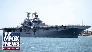 Officials say USS Boxer may have downed 2 Iranian drones last week