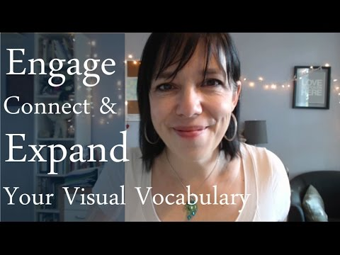 Engage, Connect & Expand Your Visual Vocabulary: BtS Jamie Ridler Studios