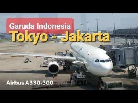 Garuda Indonesia GA 875 Haneda - Jakarta Economy Class Flight Report | Airbus A330-300 PK-GHD