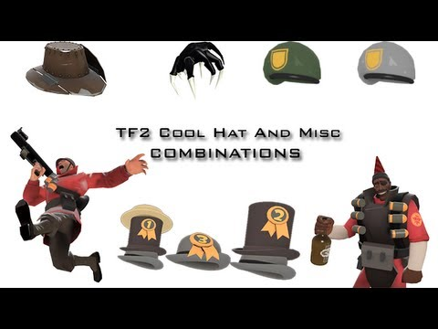 tf2 cool hat and misc combinations