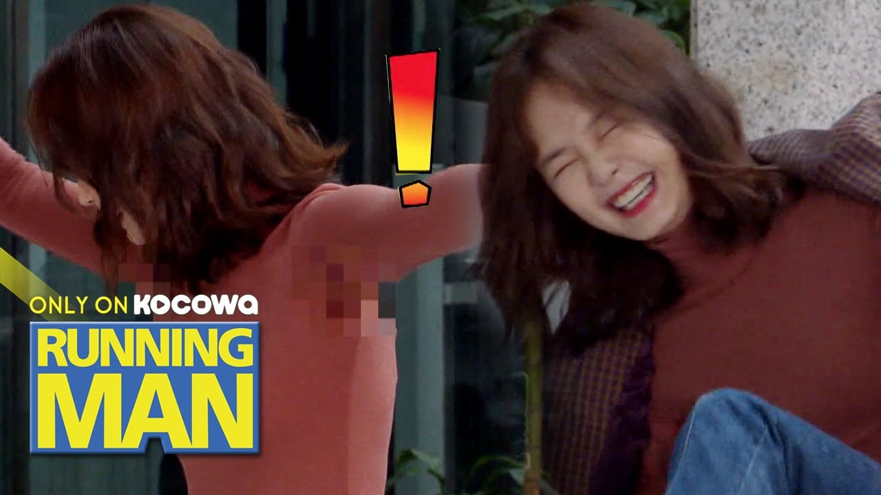 So Min's Armpits are Sweaty! They Protect So Min! [Running Man Ep 477]