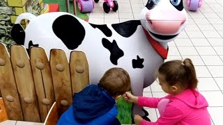 indoor playground fun for kids while shopping at carrefour cool video from kids toys channel