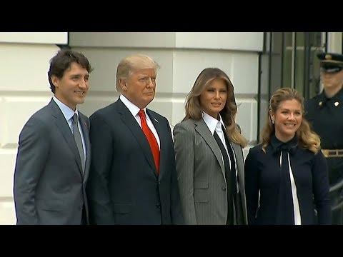 US and Canada talk NAFTA trade deal in Washington