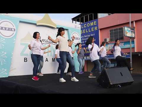 Best Western's Batam Full Talents - BW Dance at Car Free Day 10 September 2017