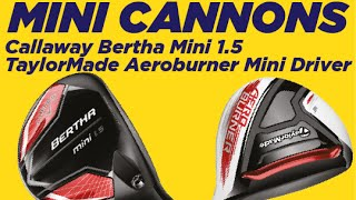 Mini drivers - have it both ways, power AND accuracy!