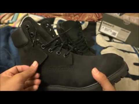how to clean timberlands black