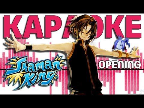 Шаман Кинг опенинг Караоке   Shaman King OST Opening Караоке №5
