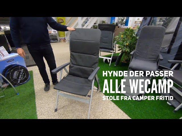 Hynde der passer alle Wecamp stole fra Camper Fritid