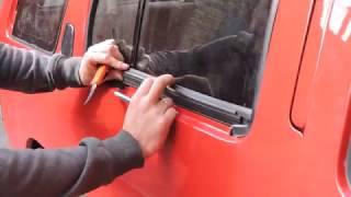Замена уплотнителей стекла Nissan Terrano 2.7(, 2017-03-26T10:03:48.000Z)