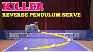 Learning KILLER Reverse Pendulum Serve | MLFM Table Tennis Tutorial
