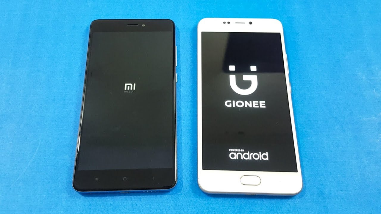 Xiaomi Redmi Note 4 Vs Gionee A1 Speed Test Comparison