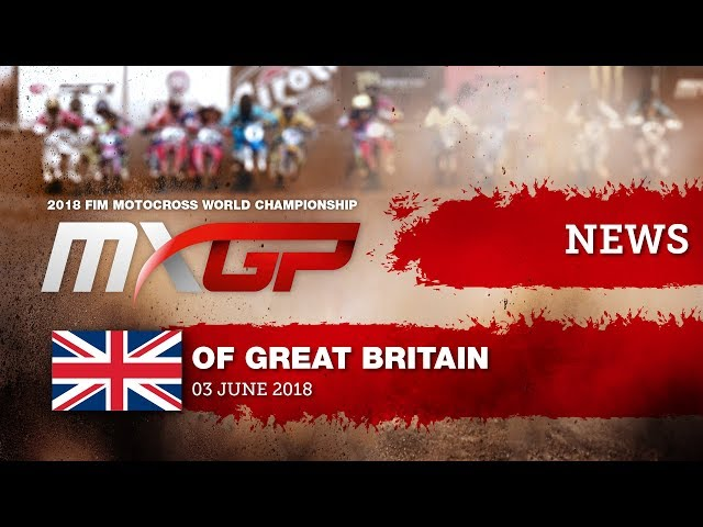 NEWS Highlights - MXGP of Great Britain 2018 - mix ENG