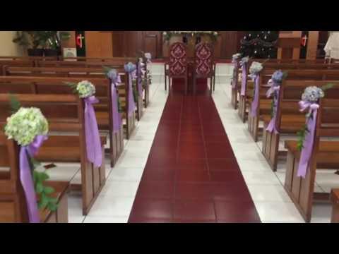10+ ide dekorasi pernikahan di gereja sederhana - life of