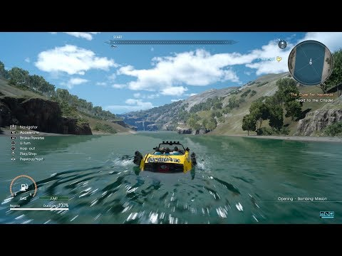 Final Fantasy XV - Exploring Oceans (OOB with Regalia Type-D) (╹◡╹)v