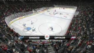 NHL 10 (PS3) WASHINGTON CAPITALS vs VANCOUVER CANUCKS