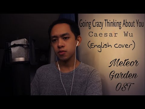 Caesar Wu 吴希泽 - Going Crazy Thinking About You 想你想到快疯了(Meteor Garden OST) | Nick Dizon English COVER
