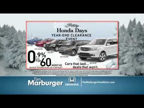 TIM MARBURGER Honda Cars Albemarle NC