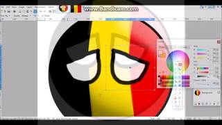 Drawing Countryballs | #3 | The Netherlands, Belgium, Luxembourg |