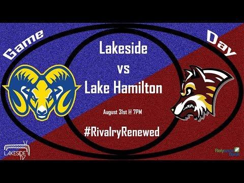 Lakeside Rams Football vs Lake Hamilton | August 31st 2018