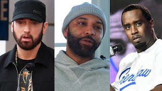 "Joe Budden & Diddy Respond To Leaked Eminem Verse Dissing Them... ""This Is Wack"" + Eminem Apologizes"