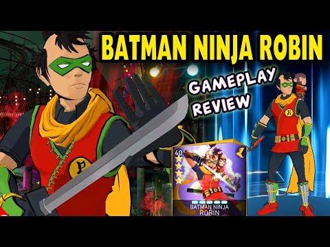 Injustice 2 Mobile  Ninja Batman Robin Gameplay + Review  We