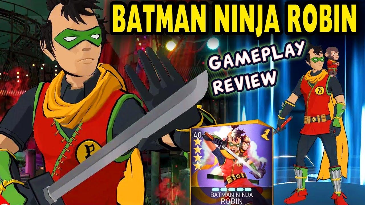 Injustice 2 Mobile Batman Ninja Robin Gameplay Review We Need More Batman Ninja Characters Youtube