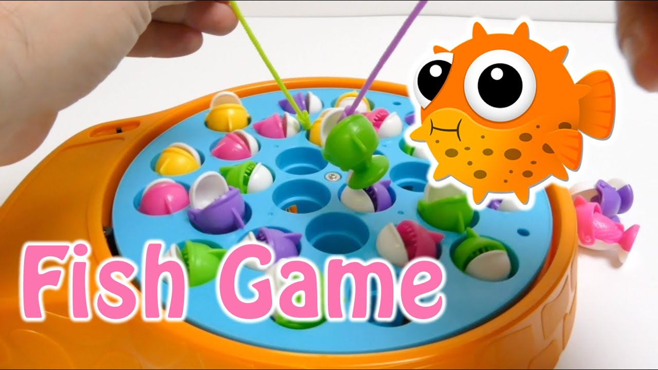 Fish Toy Game 70s : Floating fish game toy youtube