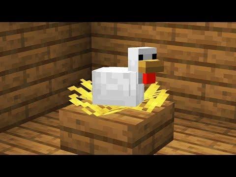 Как Сделать гнездо в Майнкрафте!