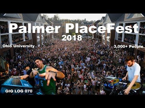 DJ GIG LOG 070   Palmer Place Fest 2018   Huge college party   Cops came!