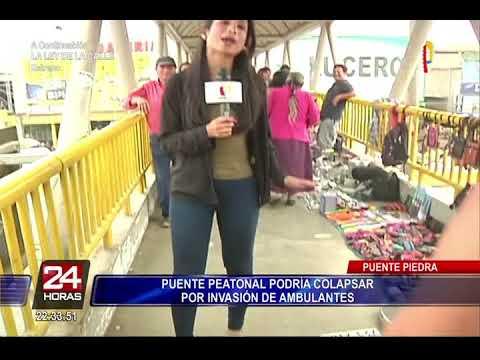 Puente Piedra: comerciantes ambulantes invaden puente peatonal (2/2)