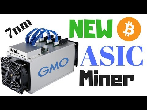 New 2018 GMO B2 Bitcoin ASIC Miner Launched! - First 7nm ASIC Miner