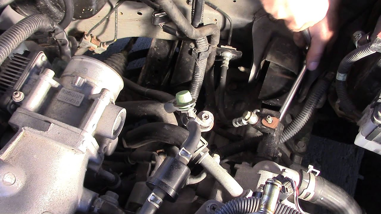 How To Changing Clutch Master Amp Slave 2006 Nissan 1