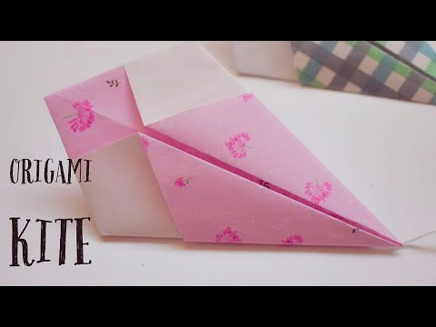 How to make Origami Kite | Making Kite out of Paper | #paperkitemaking | Noreva Projects