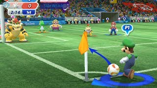 Mario and Sonic at The Rio 2016 Olympic Games  #Football  | Team Mario vs Team Sliver #13