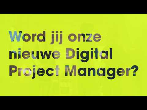 Vacature! Digital Project Manager @exitable