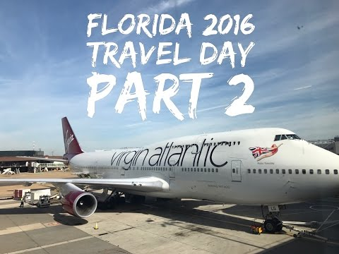 Florida Holiday - September 2016 - Day 1 - Travel day Part 2