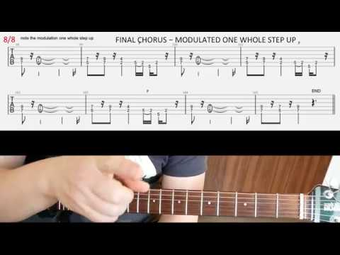 Iron Maiden Gangland Rhythm Guitar Lesson