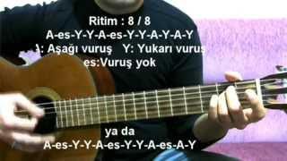 Gitar Dersi - Kafası Kendinden Bile... İncir Reçeli 2 (H.Sezai)
