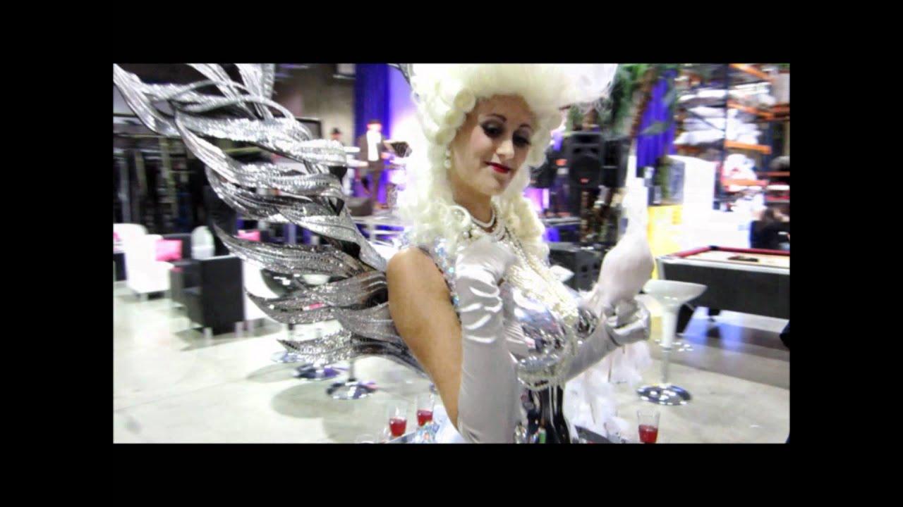 White Marie Antoinette Champagne Diva Dress