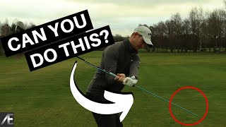 GOLF DOWNSWING SEQUENCE DRILL (Shallow the club)