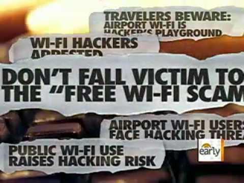 Beware Wi-Fi Hot Spot Hackers
