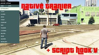 Native Trainer + Script Hook V Mod Download and Install Tutorial - GTA 5 Mods